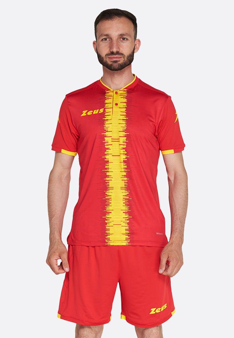 Футбольная форма (шорты, футболка) Zeus KIT PERSEO RE/GI Z01539