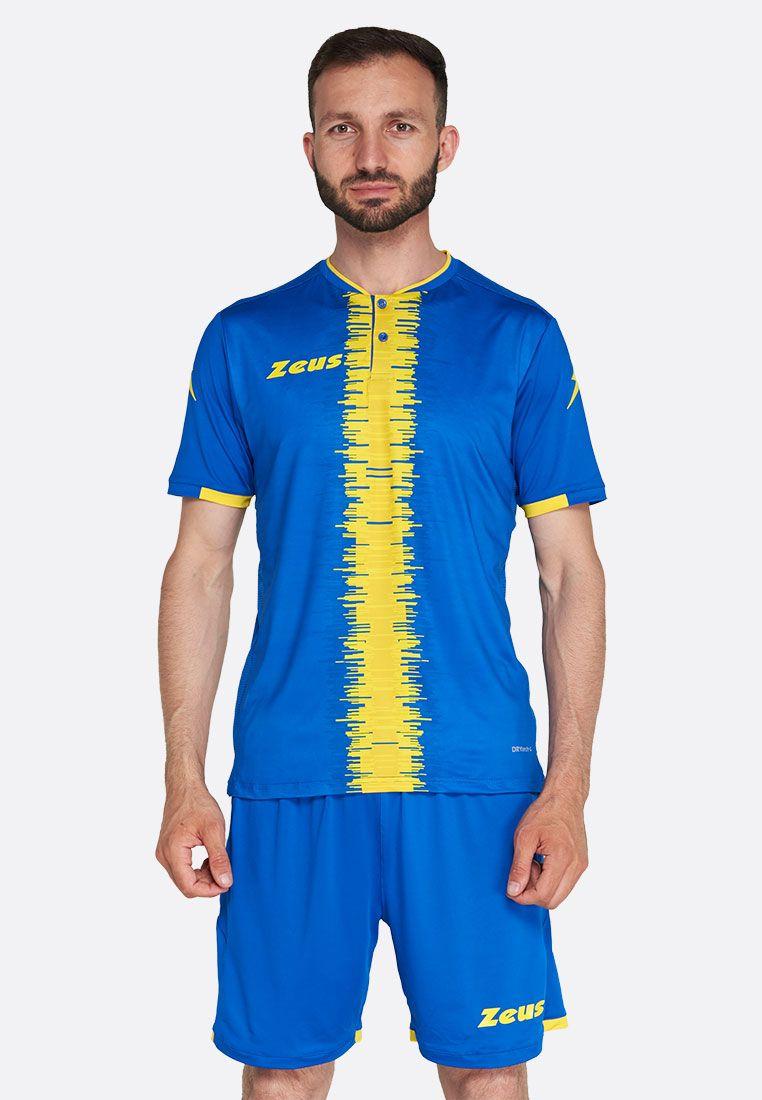 Футбольная форма (шорты, футболка) Zeus KIT PERSEO RO/GI Z01542
