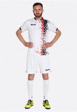 Футбольная форма (шорты, футболка) Zeus KIT KRYSTAL RE/NE Z01560