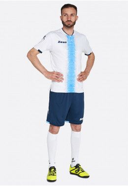 Футбольная форма (шорты, футболка) Zeus KIT PERSEO BI/BL Z01561