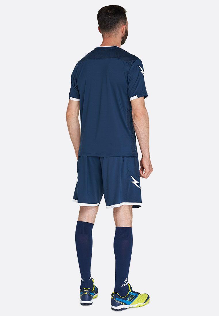 Футбольная форма (шорты, футболка) Zeus KIT PERSEO BL/BI Z01562