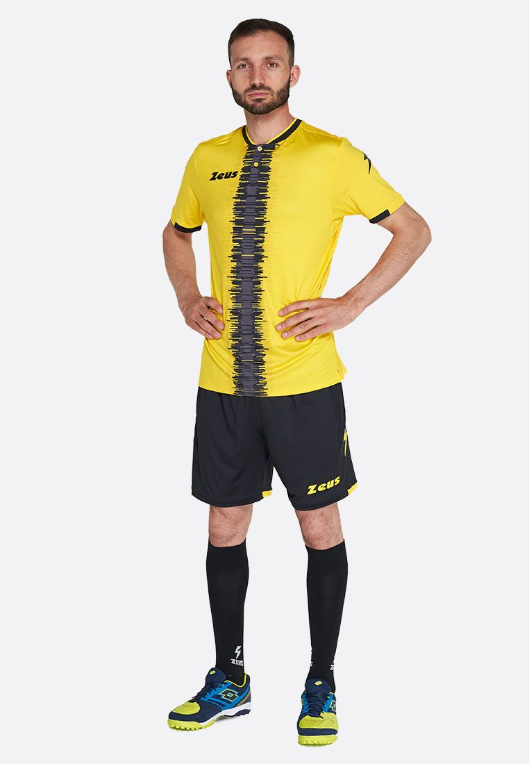 Футбольная форма (шорты, футболка) Zeus KIT PERSEO GI/NE Z01565