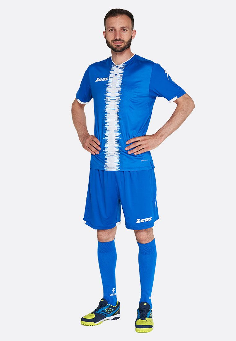 Футбольная форма (шорты, футболка) Zeus KIT PERSEO RO/BI Z01569